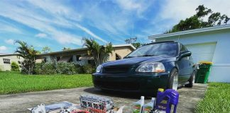 Customer Build: Steve and His 1998 Honda Civic